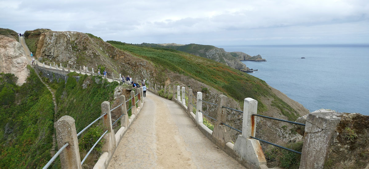 coastal walks with dog on Sark