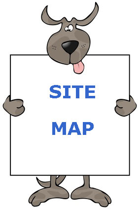 Site Map for pet-friendly holiday lets